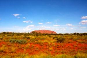 Uluru Emerges © 2014 Kate Vista