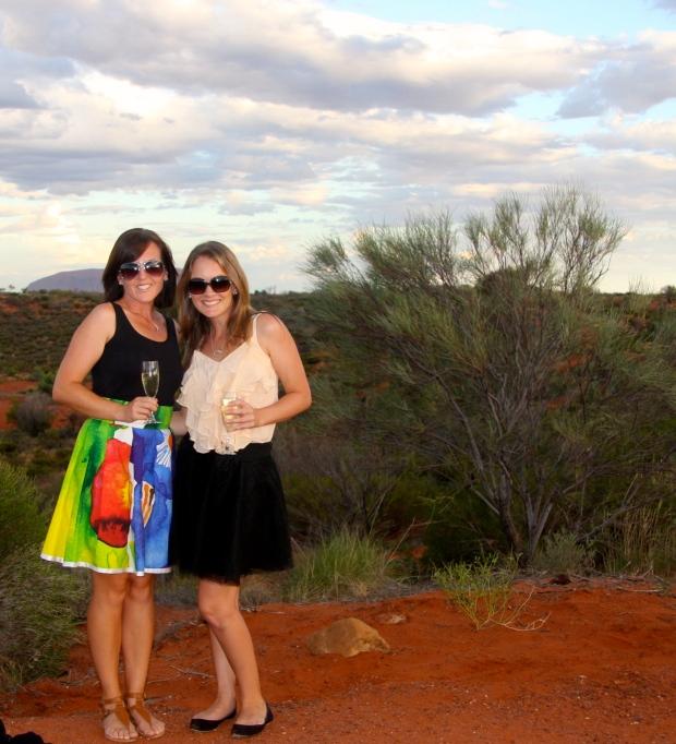 Fine Dining In the Desert! © 2014 Kate Vista