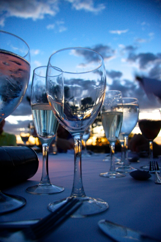 Fine Dining @ Sunset © 2014 Kate Vista